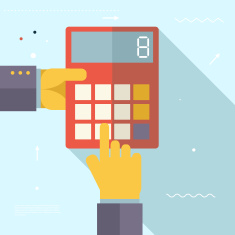 stock-illustration-46721668-retro-business-hands-with-calculator-financial-settlements-symbol-real-estate