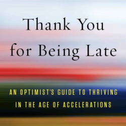book review-thank you for being late